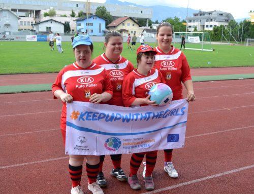 Ein Tag zum Kennenlernen und für den Fußball in Salzburg