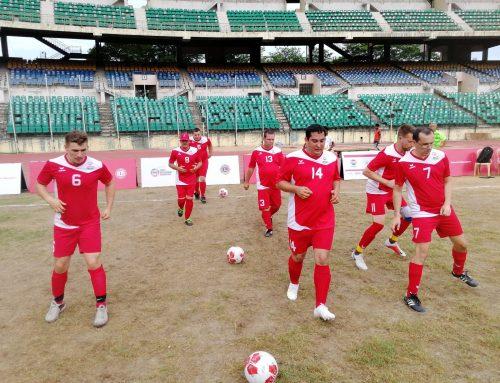 Unsere Fußballer halten Österreichs Fahne in Indien hoch