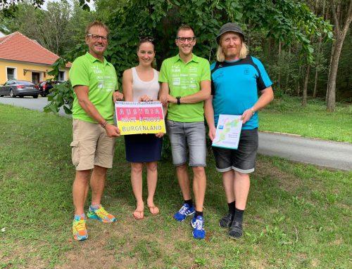 Team Dornau läuft für guten Freund quer durchs Burgenland