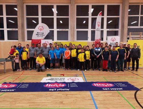 Tischtennisturnier: Duell der Burgenländer und Steirer