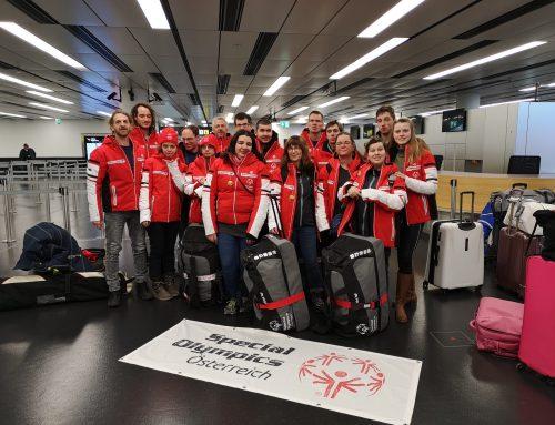 Von Villach in den hohen Norden: Österreichische Delegation nimmt an den Invitational Games in Schweden teil