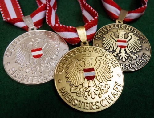 Erste Österreichische Meistertitel in diesem Jahr vergeben