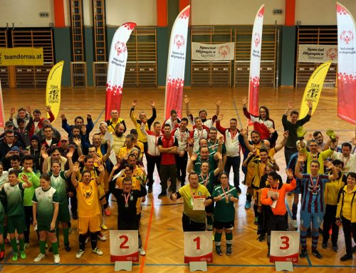 Special Olympics Hallenfußballturnier in Großpetersdorf