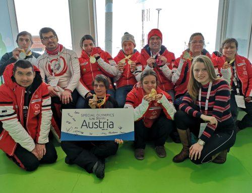Österreich gewann zwölf Medaillen bei den Invitational Games in Schweden