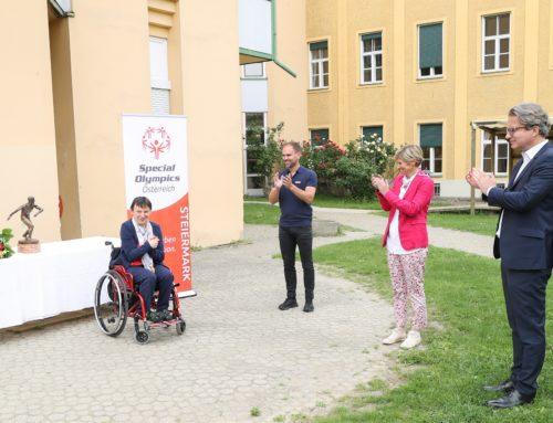 Bettina Platzer – Steirische Special-Olympics-Sportlerin des Jahres!