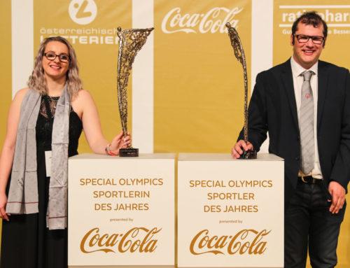 """Die """"Special Olympics Sportler des Jahres"""" heißen Sabrina Bichlmair und Lukas Kaufmann"""